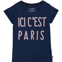Paris Saint-Germain Ici Cest Paris T-Shirt - Navy - Girls