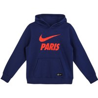 Paris Saint-Germain Core Hoodie - Blue - Kids