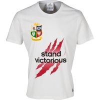British & Irish Lions Winners T-Shirt - White White
