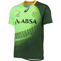 South Africa Springboks Sevens Home Replica Match Jersey 2014/15 Green