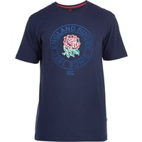 England Uglies Graphic Cotton T-Shirt Navy