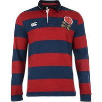 England 1871 Long Sleeve Wide Stripe Rugby Top Navy