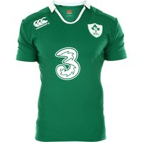 Ireland Home Test Short Sleeve Rugby Shirt 2014/15 Green