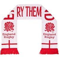 England Carry Them Home Jacquard Scarf - White/Red