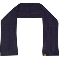 England Cable Knit Scarf - Denim