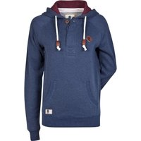 England Authentics Collection Placket Hoodie - Navy - Womens
