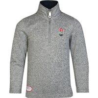 England Classics Collection 1/4 Zip Fleece - Grey - Boys