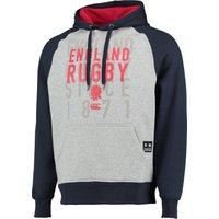 England Rugby OTH Hoody Lt Grey