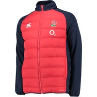 England Rugby Presentation Jacket Red