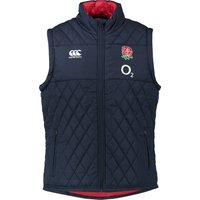 England Rugby Padded Gilet Navy