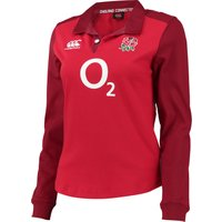England Rugby Alternate Classic Long Sleeve Shirt 15/16 - Womens