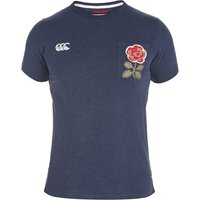 England Rugby 1871 Pocket Rose T-Shirt Navy