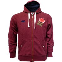 England Rugby 1871 Zip Through Hoody