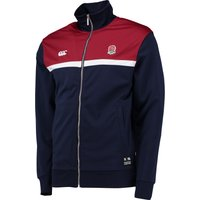 England Rugby Zip Thro Track Jacket Navy