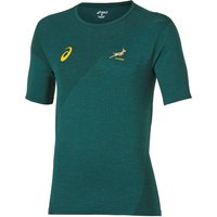 South Africa Springboks Rugby Match Day Training T-Shirt Green