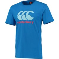 Canterbury Logo T-Shirt Blue