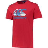 Canterbury Multi Hoop T-Shirt Red