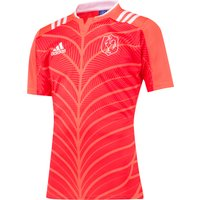 France Rugby Training Jersey Red