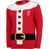 England Santa Suit Christmas Jumper - Adult