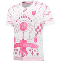 Stade Francais Third Shirt Short Sleeve 2015/16 White