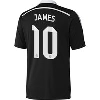 Real Madrid Third Mini Kit 2014/15 with James 10 printing