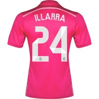 Real Madrid Away FIFA World Champions 2014 Shirt Pink with Illarra 24
