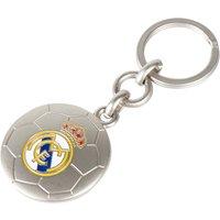 Real Madrid Football Crest Keyring