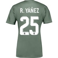 Real Madrid Home Goalkeeper Shirt 2017-18 with R.Yáñez 25 printing