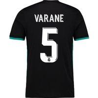 Real Madrid Away Shirt 2017-18 with Varane 5 printing