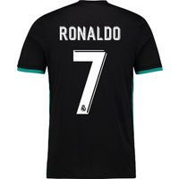 Real Madrid Away Shirt 2017-18 with Ronaldo 7 printing
