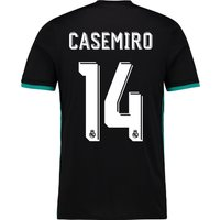 Real Madrid Away Shirt 2017-18 with Casemiro 14 printing