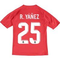 Real Madrid Away Goalkeeper Shirt 2017-18 - Kids with R.Yáñez 25 printing