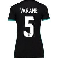 Real Madrid Away Shirt 2017-18 - Womens with Varane 5 printing