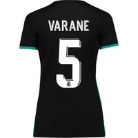 Real Madrid Away Shirt 2017-18 - Womens with Varane 5 printing