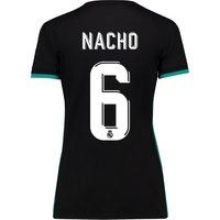 Real Madrid Away Shirt 2017-18 - Womens with Nacho 6 printing