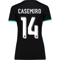 Real Madrid Away Shirt 2017-18 - Womens with Casemiro 14 printing