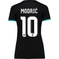 Real Madrid Away Shirt 2017-18 - Womens with Modric 10 printing