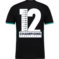 Real Madrid Away Shirt 2017-18 with Champions 12 printing