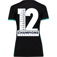 Real Madrid Away Shirt 2017-18 - Womens with Champions 12 printing