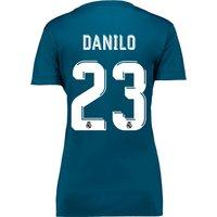 Real Madrid Third Shirt 2017-18 - Womens with Danilo 23 printing