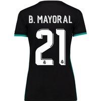Real Madrid Away Shirt 2017-18 - Womens with B. Mayoral 21 printing