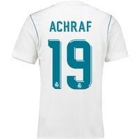 Real Madrid Home Shirt 2017-18 with Achraf 19 printing