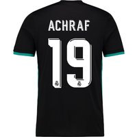 Real Madrid Away Shirt 2017-18 with Achraf 19 printing