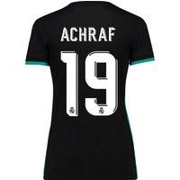 Real Madrid Away Shirt 2017-18 - Womens with Achraf 19 printing