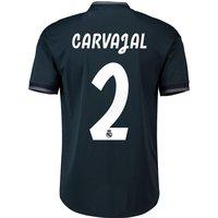 Real Madrid Away Adi Zero Shirt 2018-19 with Carvajal 2 printing