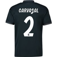 Real Madrid Away Shirt 2018-19 with Carvajal 2 printing