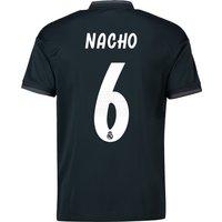 Real Madrid Away Shirt 2018-19 with Nacho 6 printing