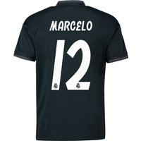 Real Madrid Away Shirt 2018-19 with Marcelo 12 printing