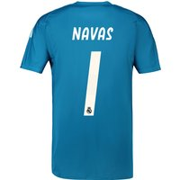 Real Madrid Away Goalkeeper Shirt 2018-19 with Navas 1 printing