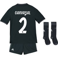 Real Madrid Away Kids Kit 2018-19 with Carvajal 2 printing